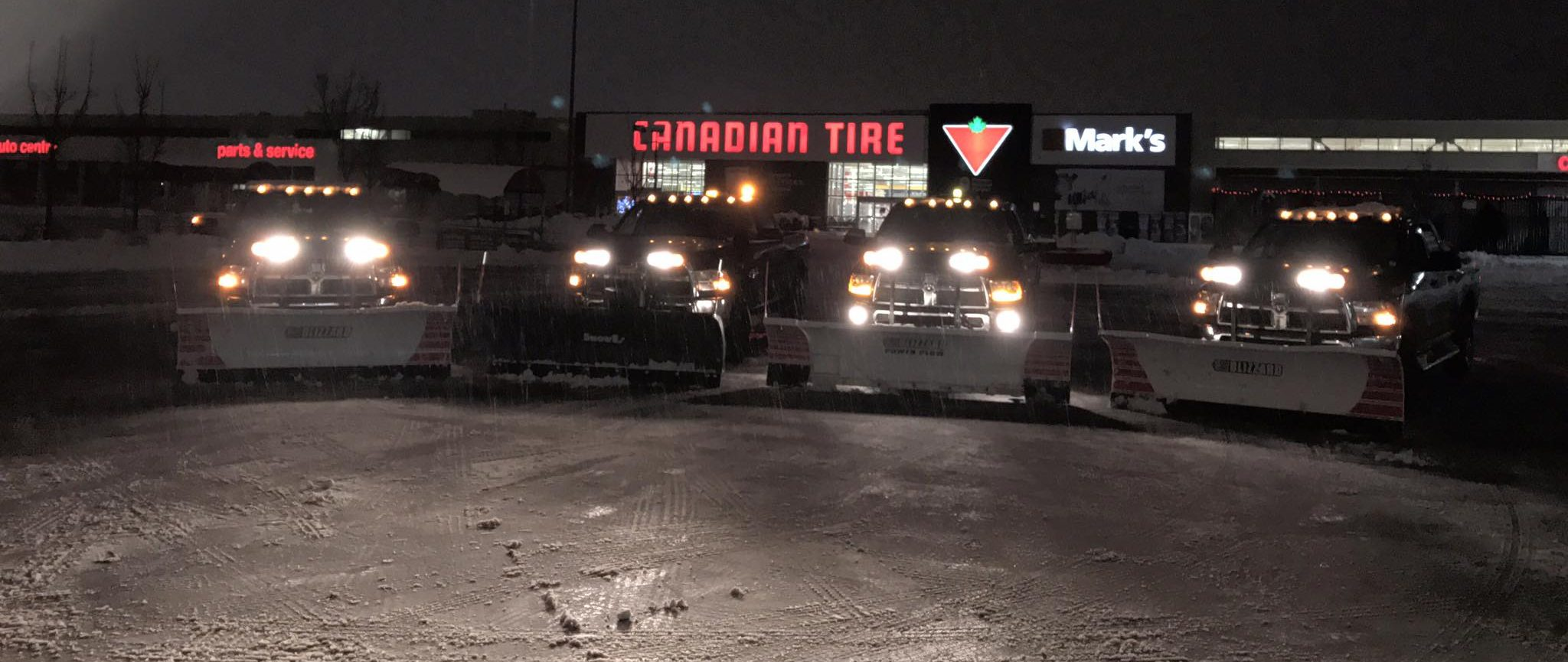 Commercial snow removal Oakville